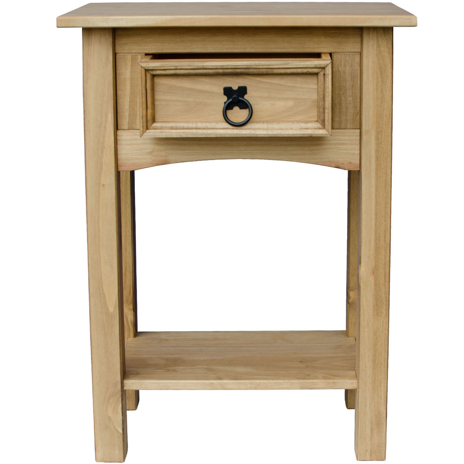 Corona-Solid-Pine-Mexican-Living-Room-Waxed-Furniture-Sideboard-Bookcase-Table