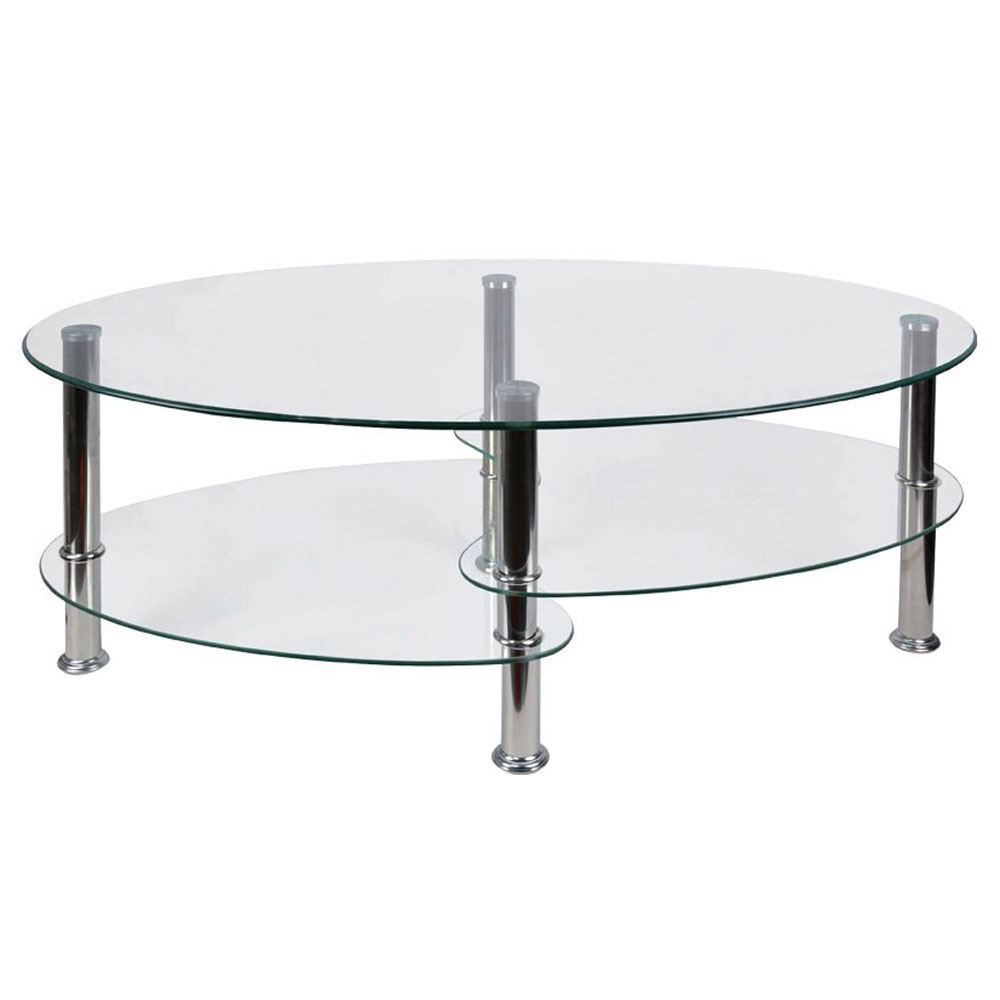 ... Glass Top Stainless Steel Furniture; Picture 2 Of 2