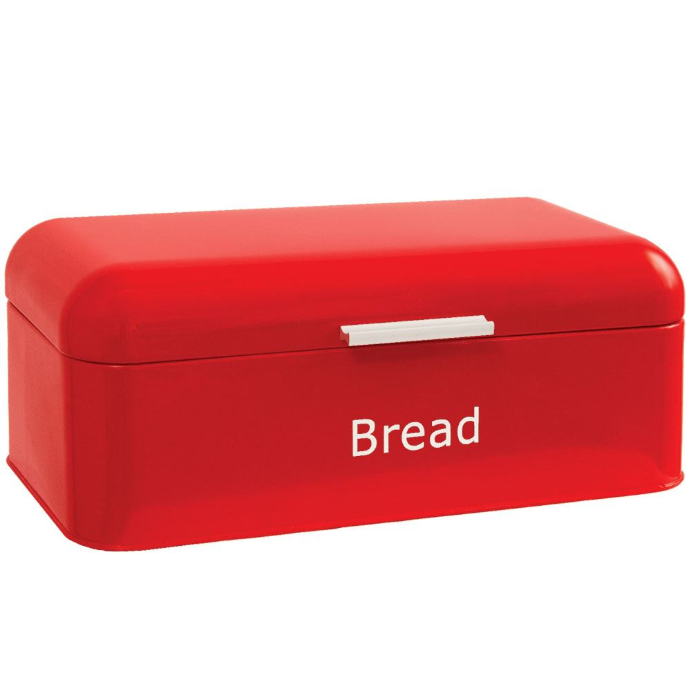 Curved-Bread-Bin-Steel-Kitchen-Top-Storage-Roll-Loaf-Box-New-By-Home-Discount thumbnail 24