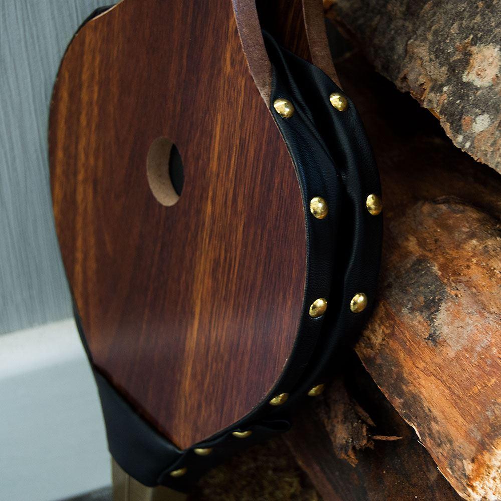 Home discount feu Soufflet marron foncé Fireside Souffleur livraison gratuite.