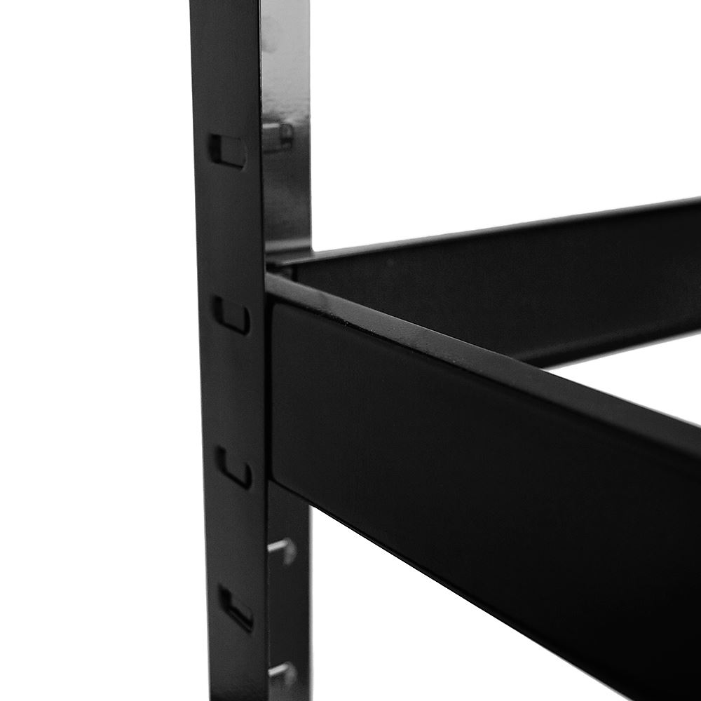 5-Tier-Shelf-Black-Heavy-Duty-Warehouse-DIY-Garage-Storage-Rack-Shelving-Unit thumbnail 6
