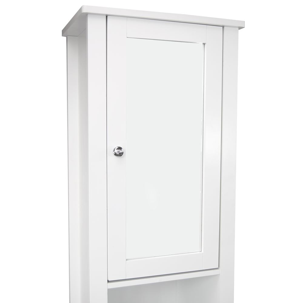 tall bathroom storage cabinets with doors bathroom cabinet mirrored door cupboard 25781