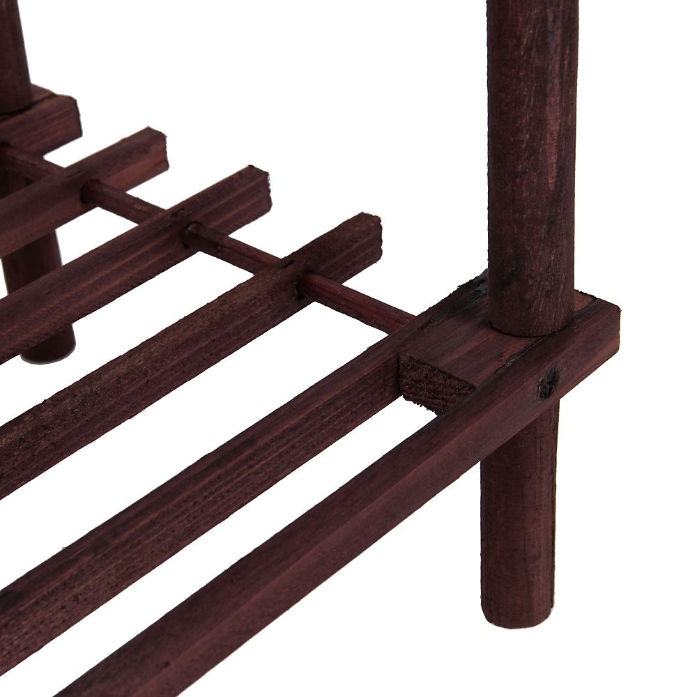 2-3-4-Tier-Shoe-Rack-Slated-Dark-Oak-Natural-Walnut-Wood-Footwear-Storage-Unit thumbnail 36