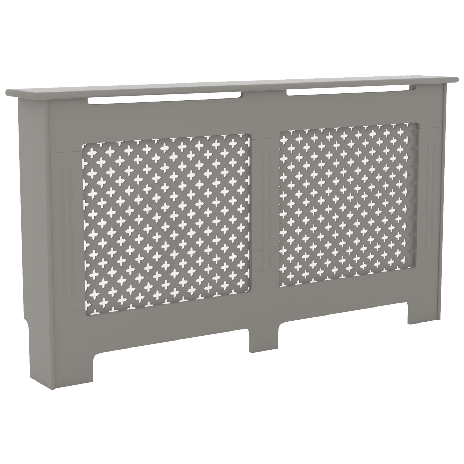 Radiateur-Housse-Blanc-inachevee-MODERNE-BOIS-TRADITIONNELLE-Grill-cabinet-furniture miniature 265