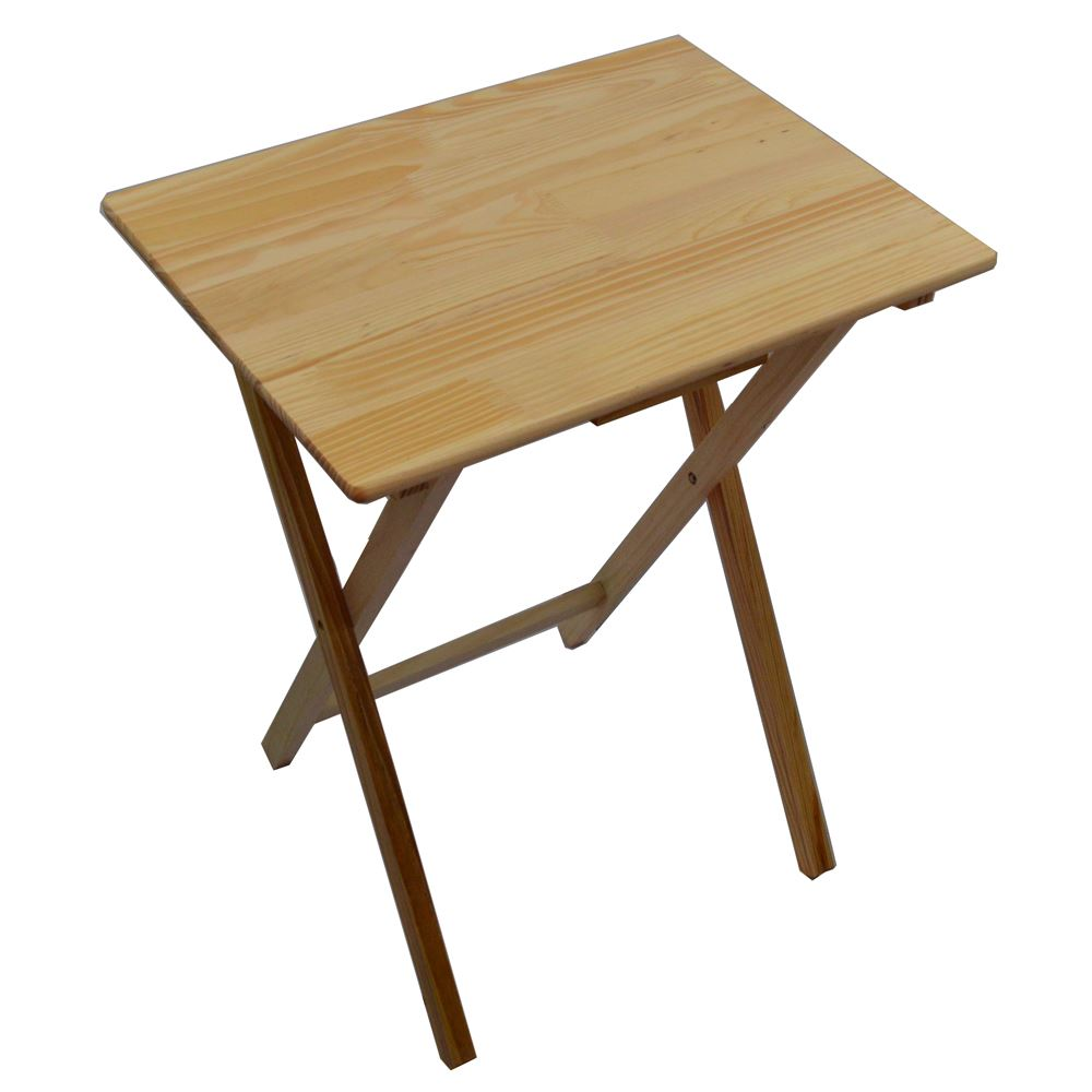 wood folding table folding snack table wooden tv side laptop coffee tea 31066