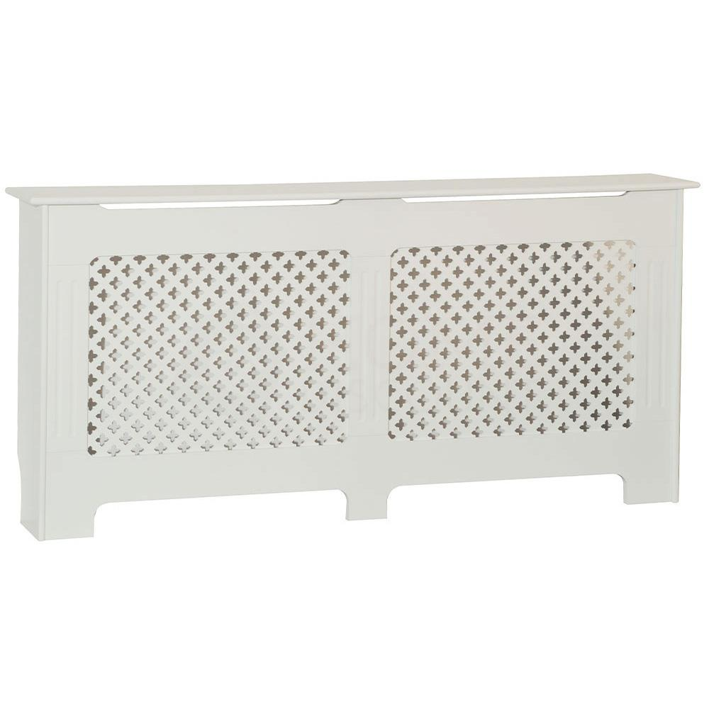 thumbnail 281 - Radiator Cover White Unfinished Modern Traditional Wood Grill Cabinet Furniture