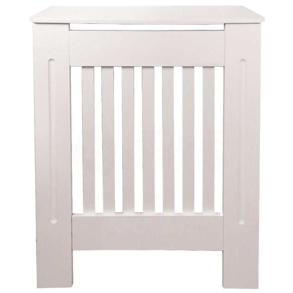Chelsea-Couvre-radiateur-Moderne-Blanc-Armoire-a-lattes-Grill-meubles-en-bois-nouveau miniature 9