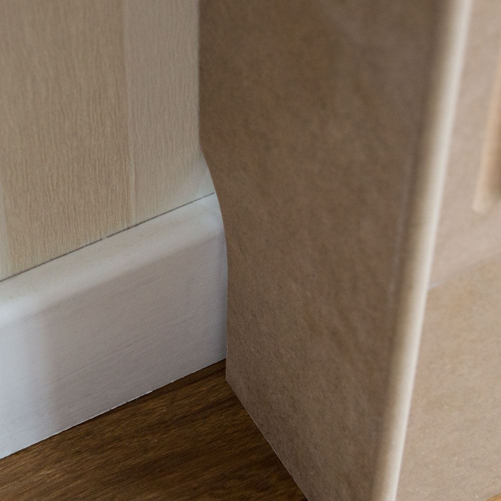 Oxford Radiator Cover Traditional Unfinished Large Mdf