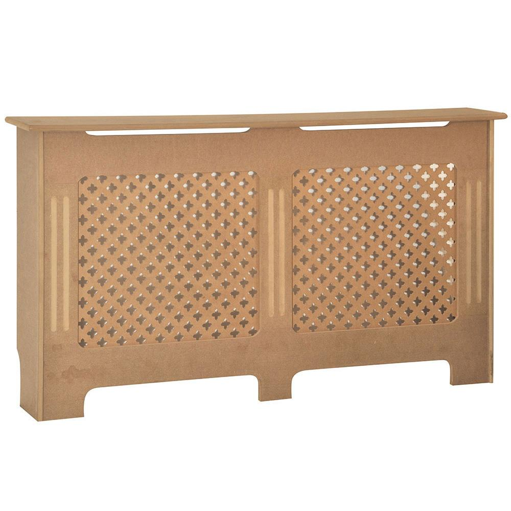 Radiateur-Housse-Blanc-inachevee-MODERNE-BOIS-TRADITIONNELLE-Grill-cabinet-furniture miniature 273