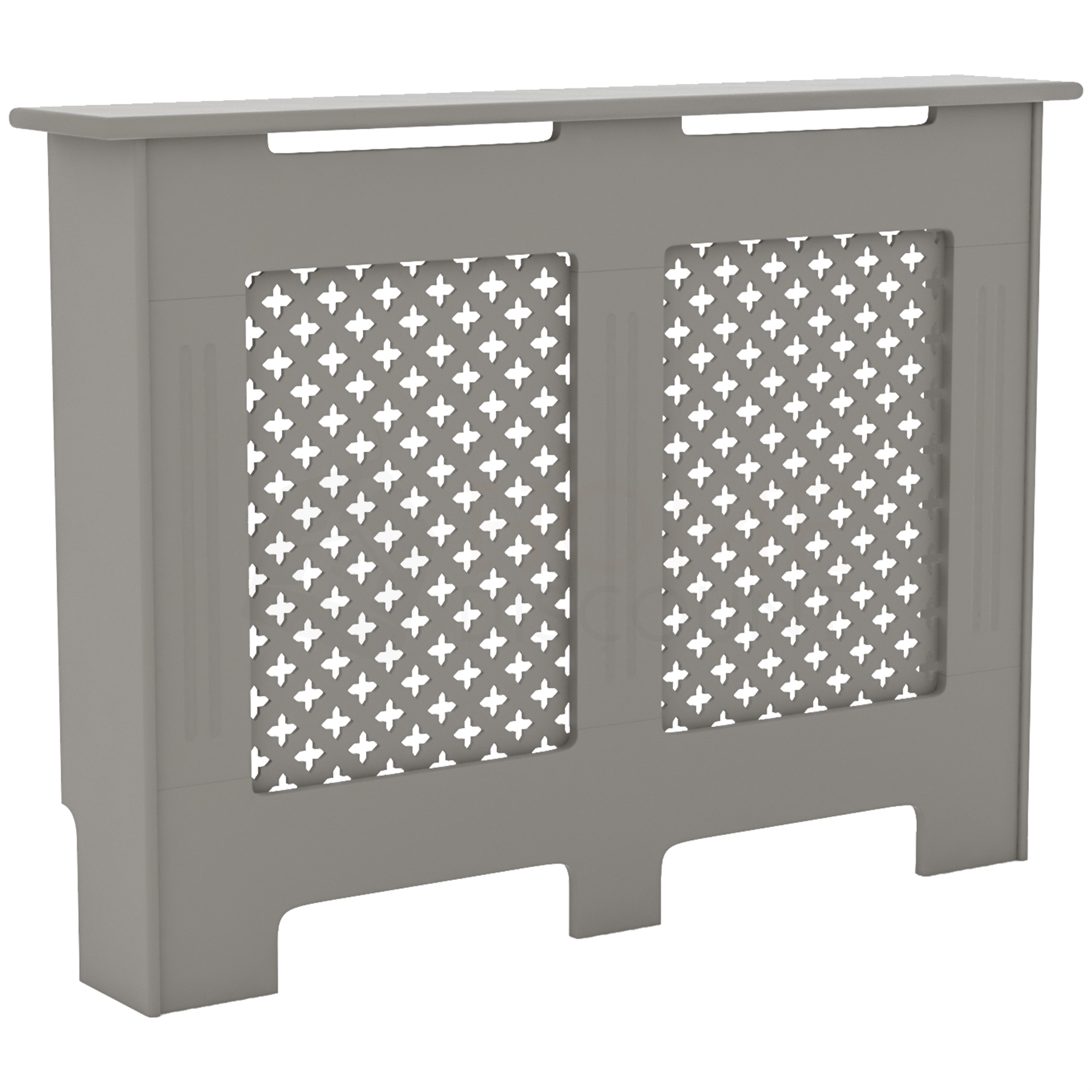 Radiateur-Housse-Blanc-inachevee-MODERNE-BOIS-TRADITIONNELLE-Grill-cabinet-furniture miniature 241