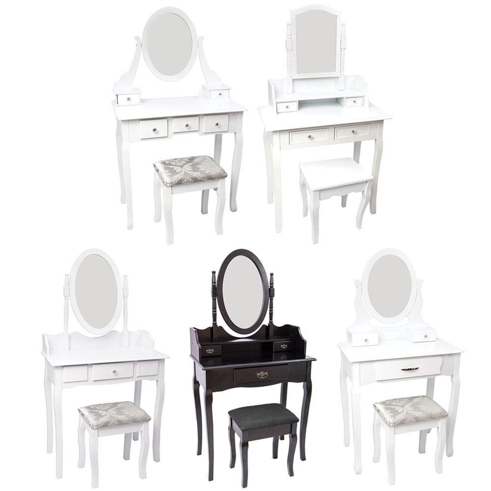 Nishano dressing table drawer stool adjustable mirror - Protector escritorio ikea ...