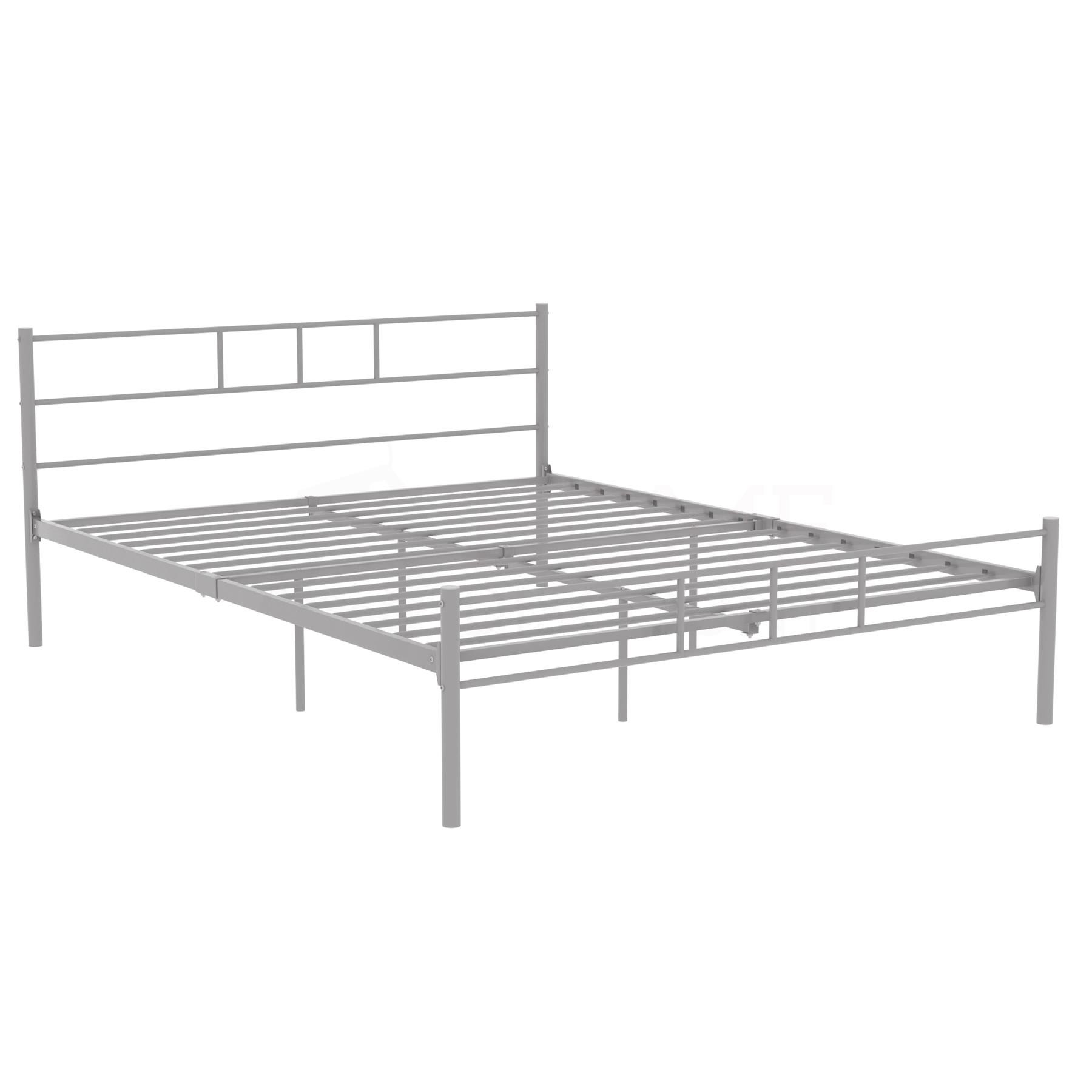 Dorset-Double-King-Size-Single-Bed-Metal-Steel-Frame-4ft6-5ft-Bedroom-Furniture thumbnail 71