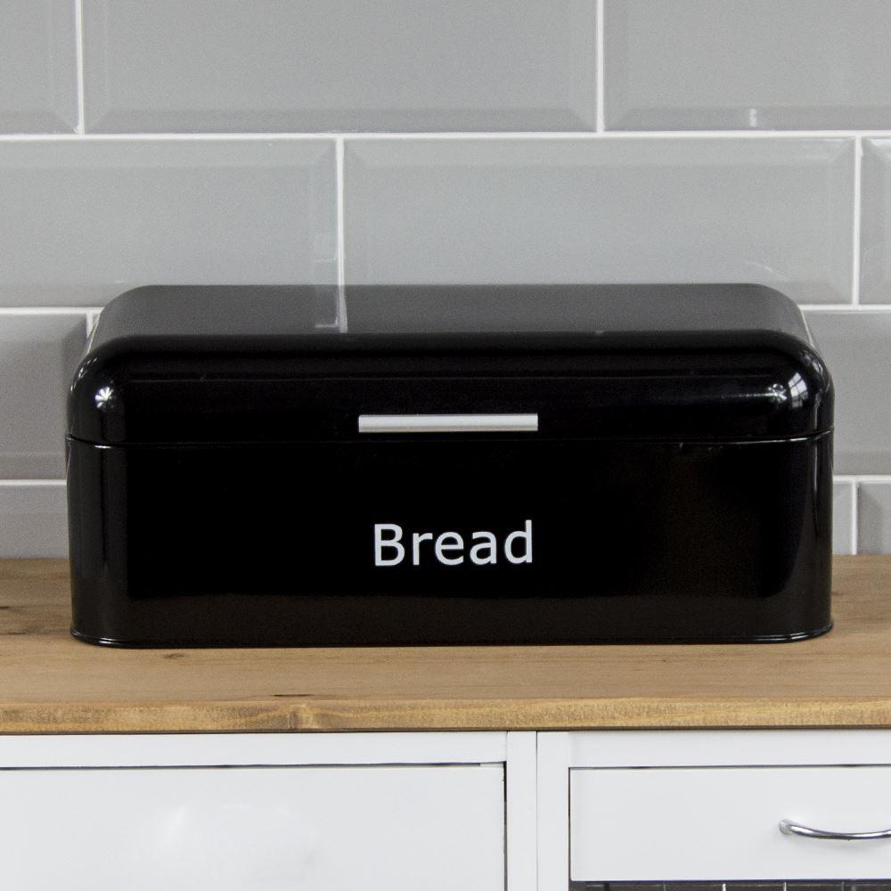 Cuisine, Arts De La Table Official Website Kitchencraft Printed Steel Bread Bin Latest Technology