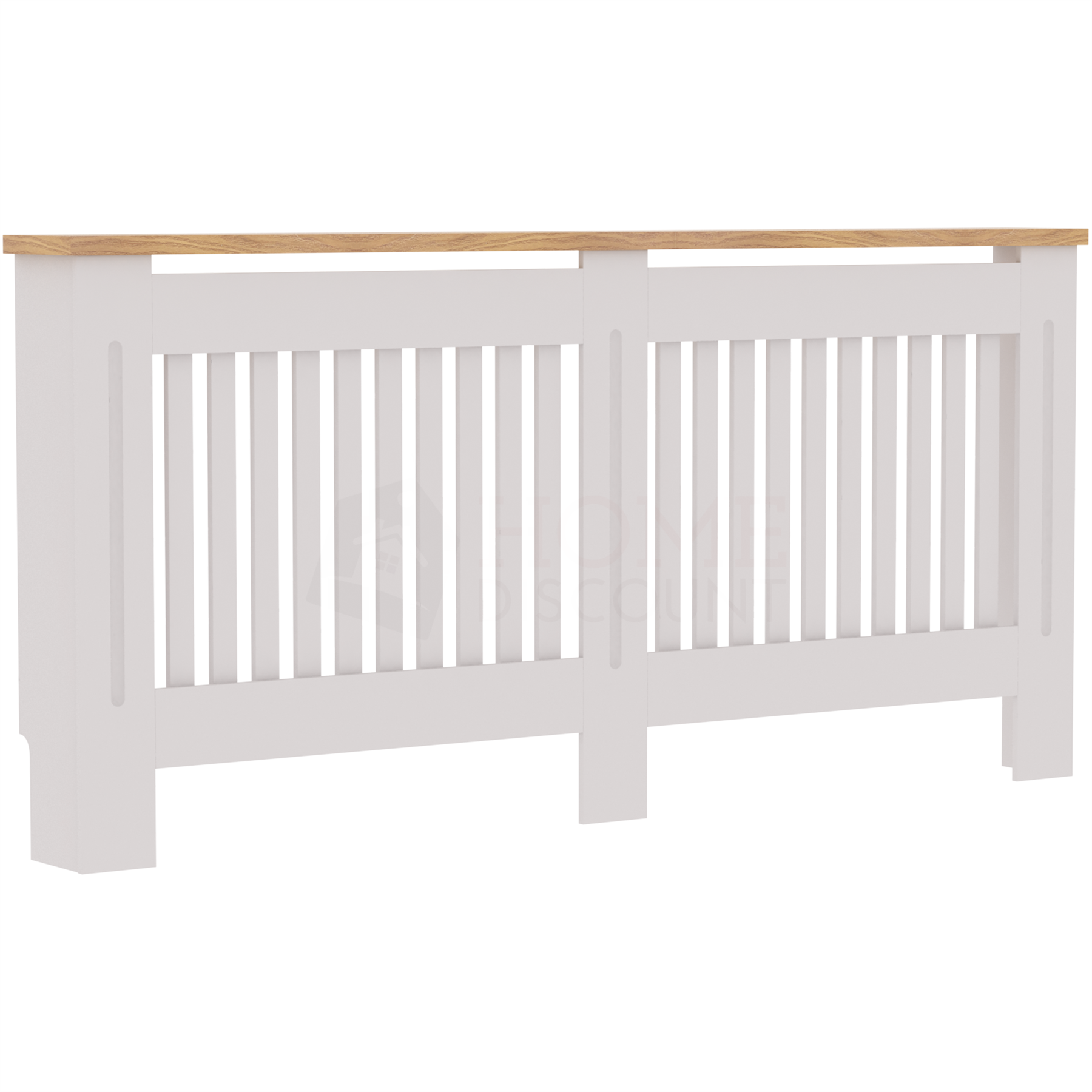 Radiateur-Housse-Blanc-inachevee-MODERNE-BOIS-TRADITIONNELLE-Grill-cabinet-furniture miniature 33