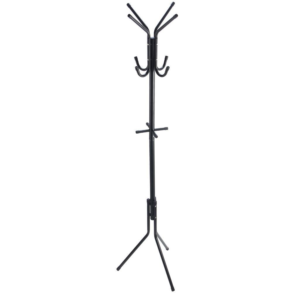 coat stand garment rack metal clothes jacket hanger rack. Black Bedroom Furniture Sets. Home Design Ideas