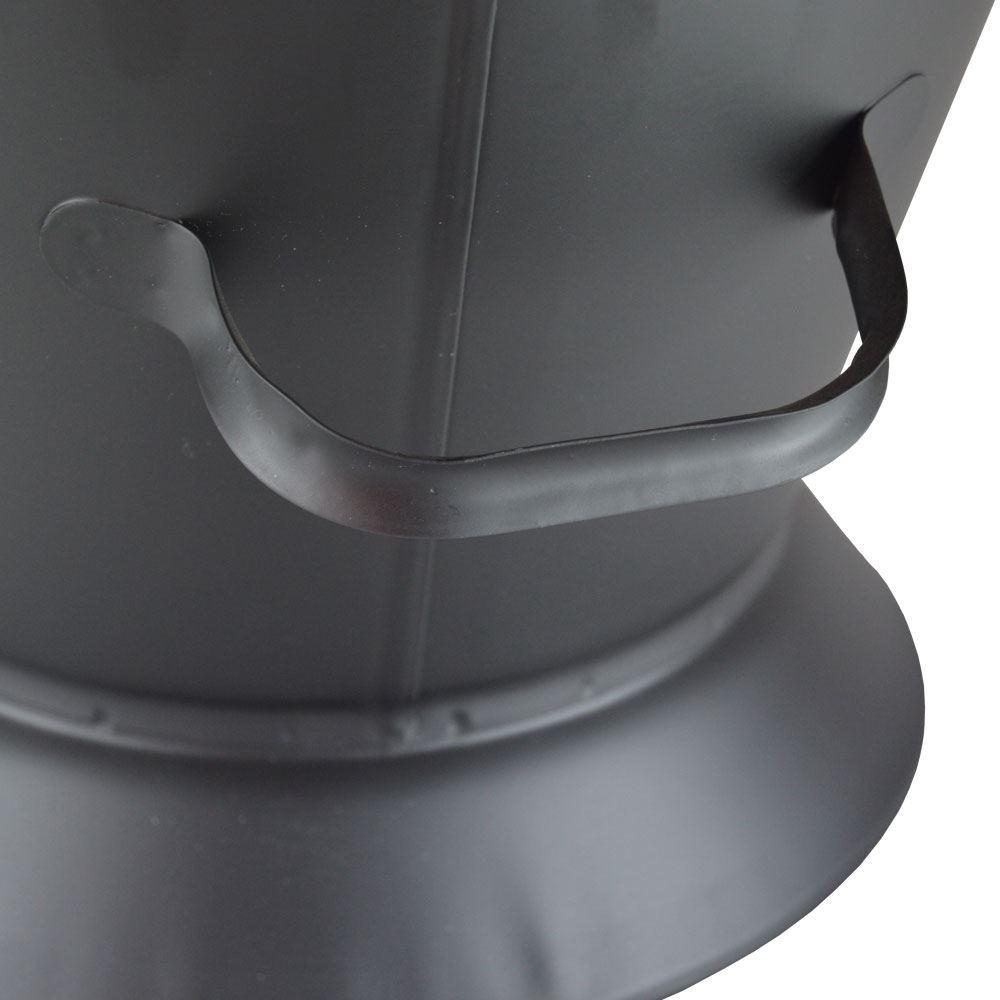 Waterloo-Bucket-amp-Shovel-Set-Black-Coal-Ash-Fireplace-Scuttle-Hod-Storage