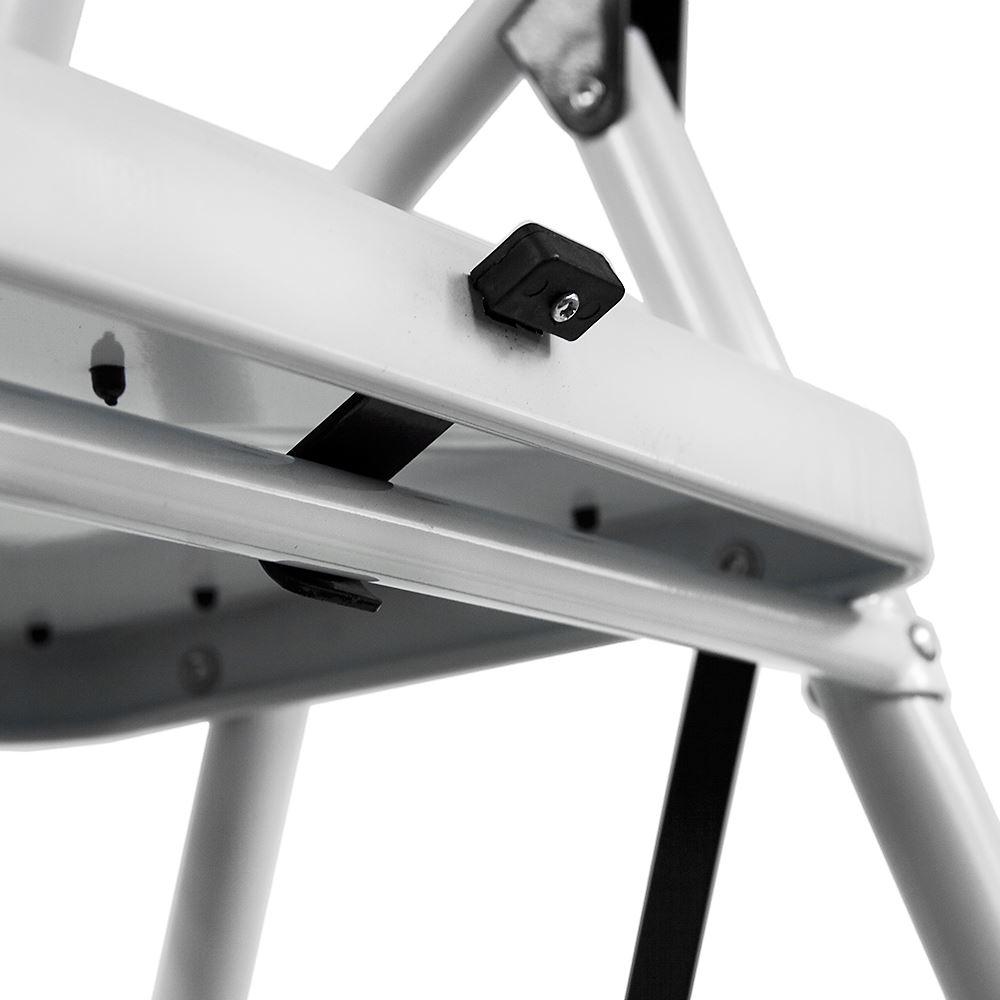 3 Step Ladder Safety Anti Slip Rubber Mat Tread Handrail