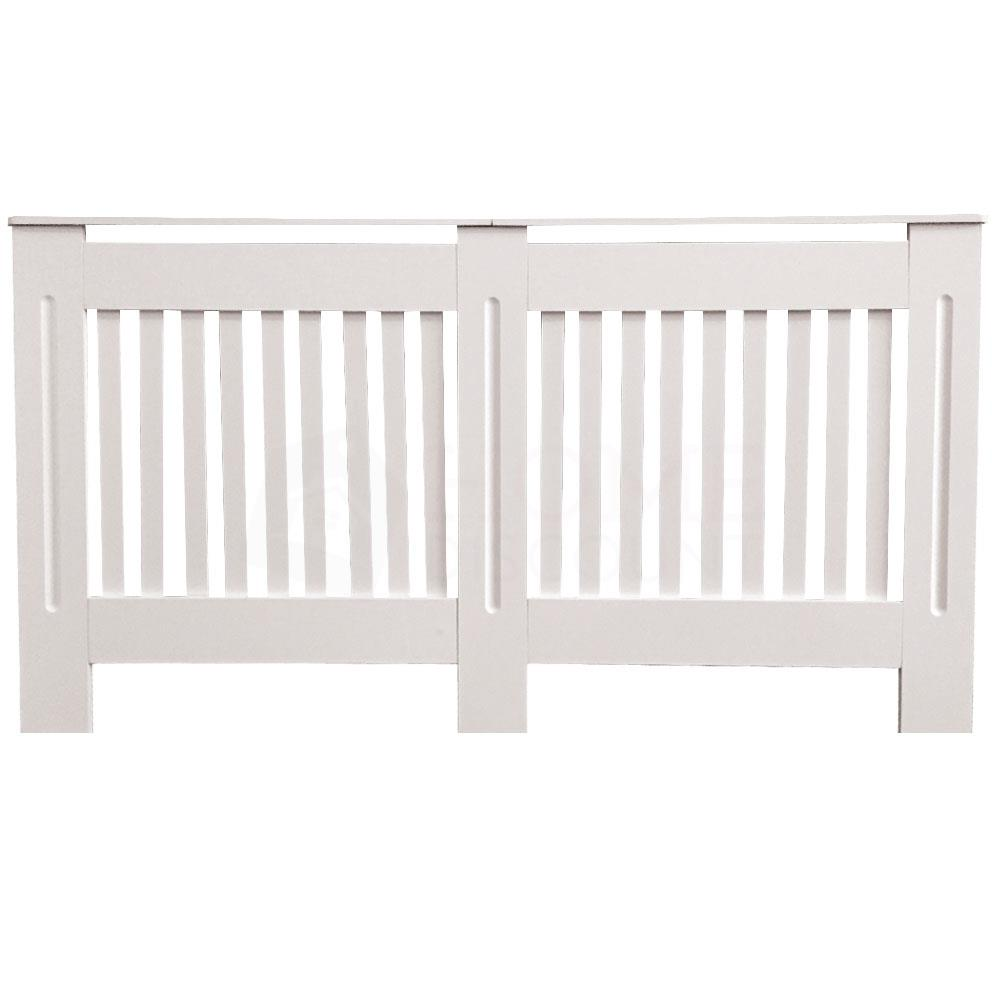 Radiateur-Housse-Blanc-inachevee-MODERNE-BOIS-TRADITIONNELLE-Grill-cabinet-furniture miniature 89