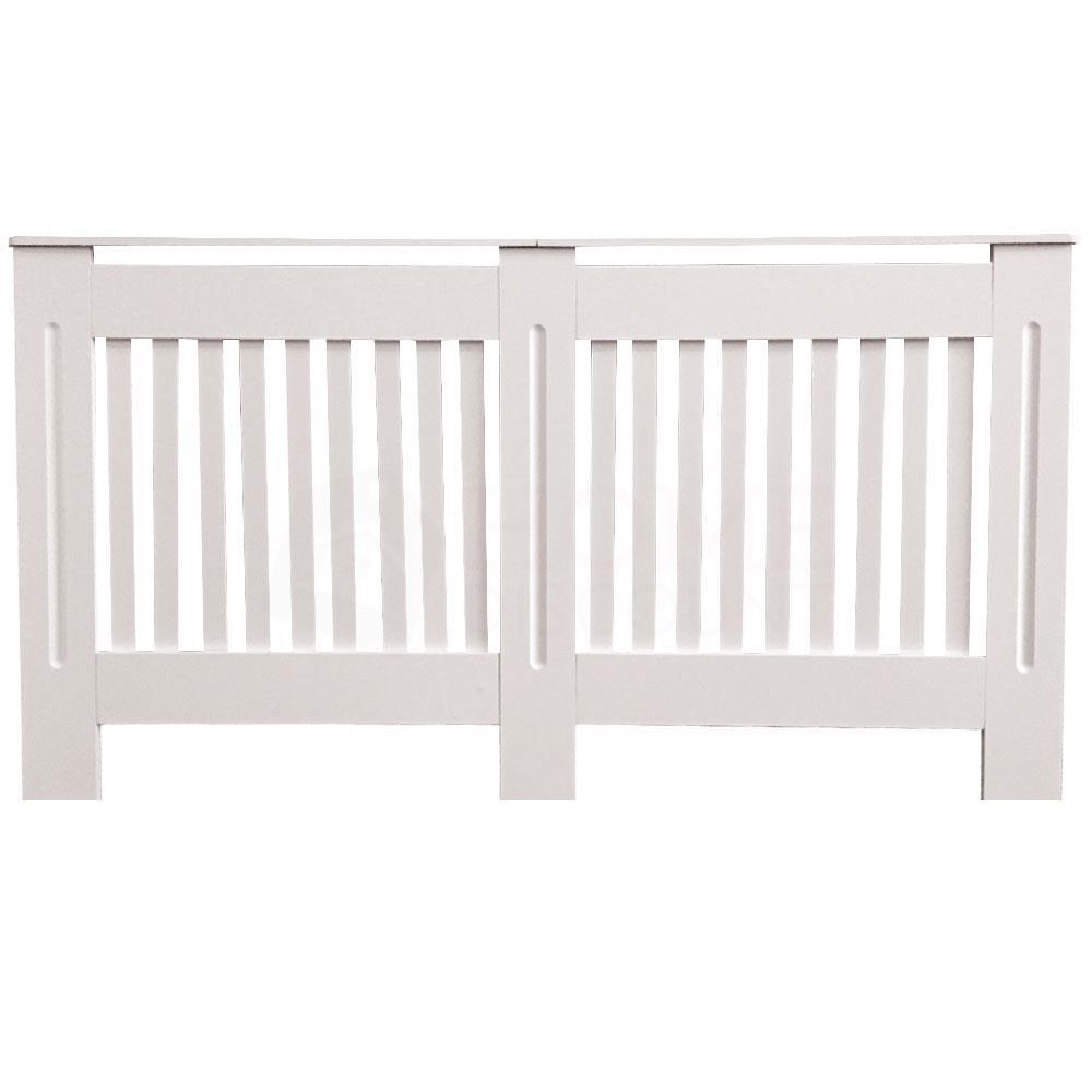 Chelsea-Couvre-radiateur-Moderne-Blanc-Armoire-a-lattes-Grill-meubles-en-bois-nouveau miniature 25