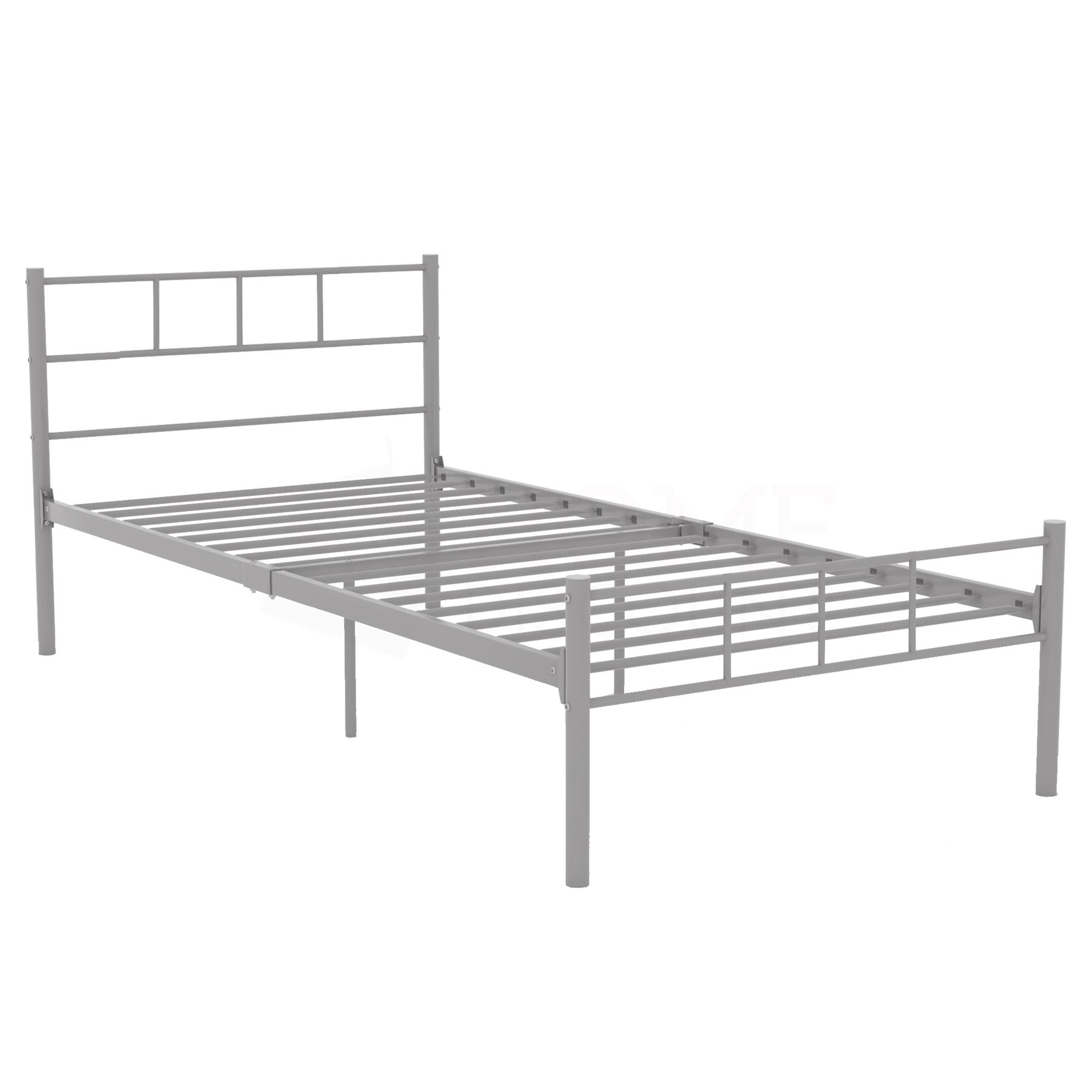 Dorset-Double-King-Size-Single-Bed-Metal-Steel-Frame-4ft6-5ft-Bedroom-Furniture thumbnail 18