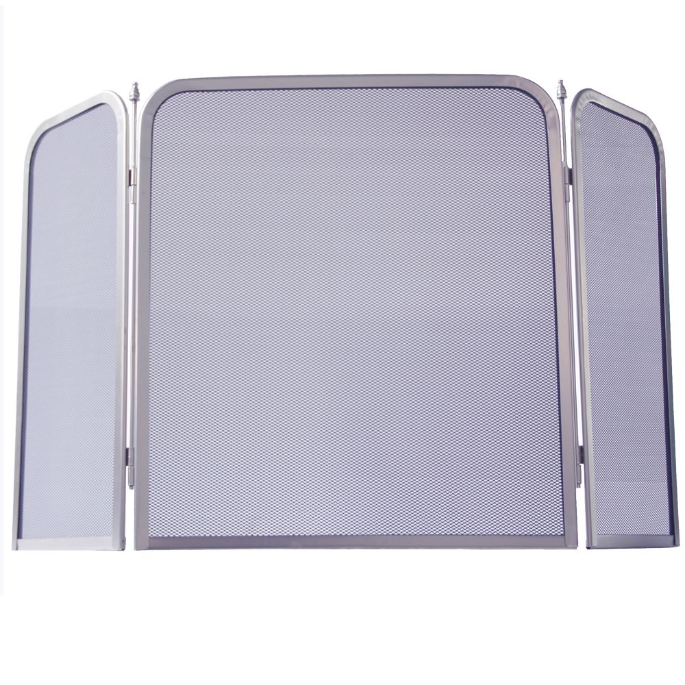 Fire Screen Square Spark Guard Fireplace Fireside Panel