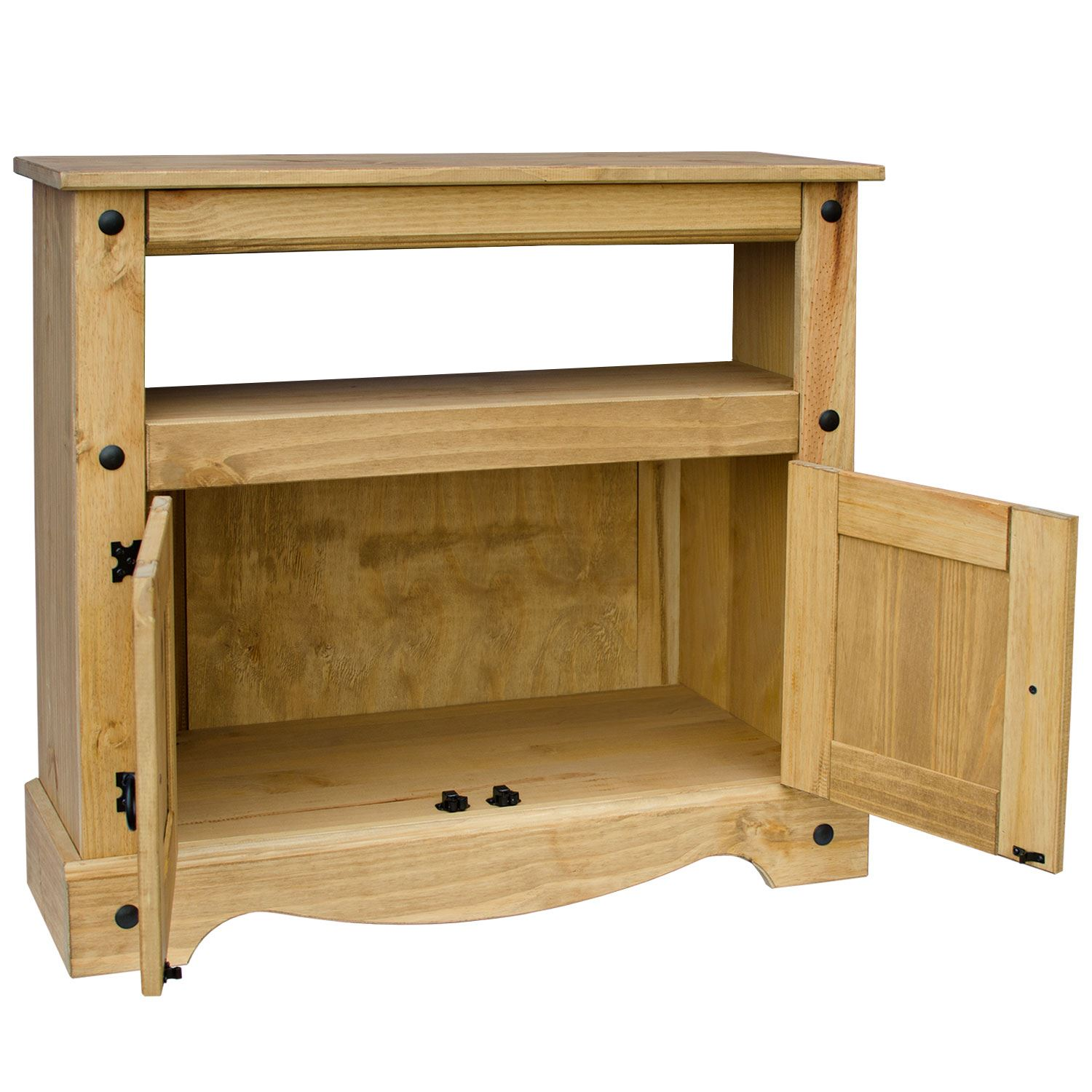 Corona Straight Tv Unit Solid Pine Mexican Cabinet Furniture By Home Discount Ebay