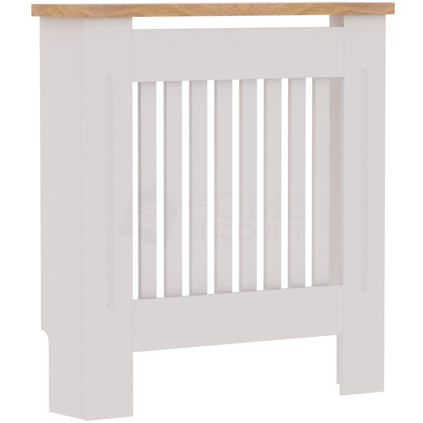 Radiateur-Housse-Blanc-inachevee-MODERNE-BOIS-TRADITIONNELLE-Grill-cabinet-furniture miniature 9