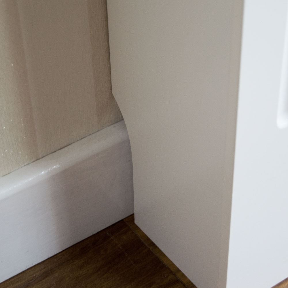 Painting Mdf Kitchen Cabinets White: Radiator Cover Modern White Small Cabinet MDF Painted Wood