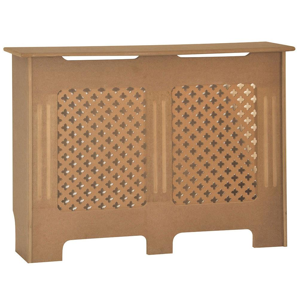 Radiateur-Housse-Blanc-inachevee-MODERNE-BOIS-TRADITIONNELLE-Grill-cabinet-furniture miniature 249