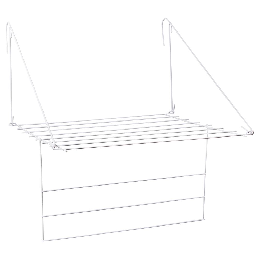 compact utility clothes airer radiator indoor drying rack. Black Bedroom Furniture Sets. Home Design Ideas
