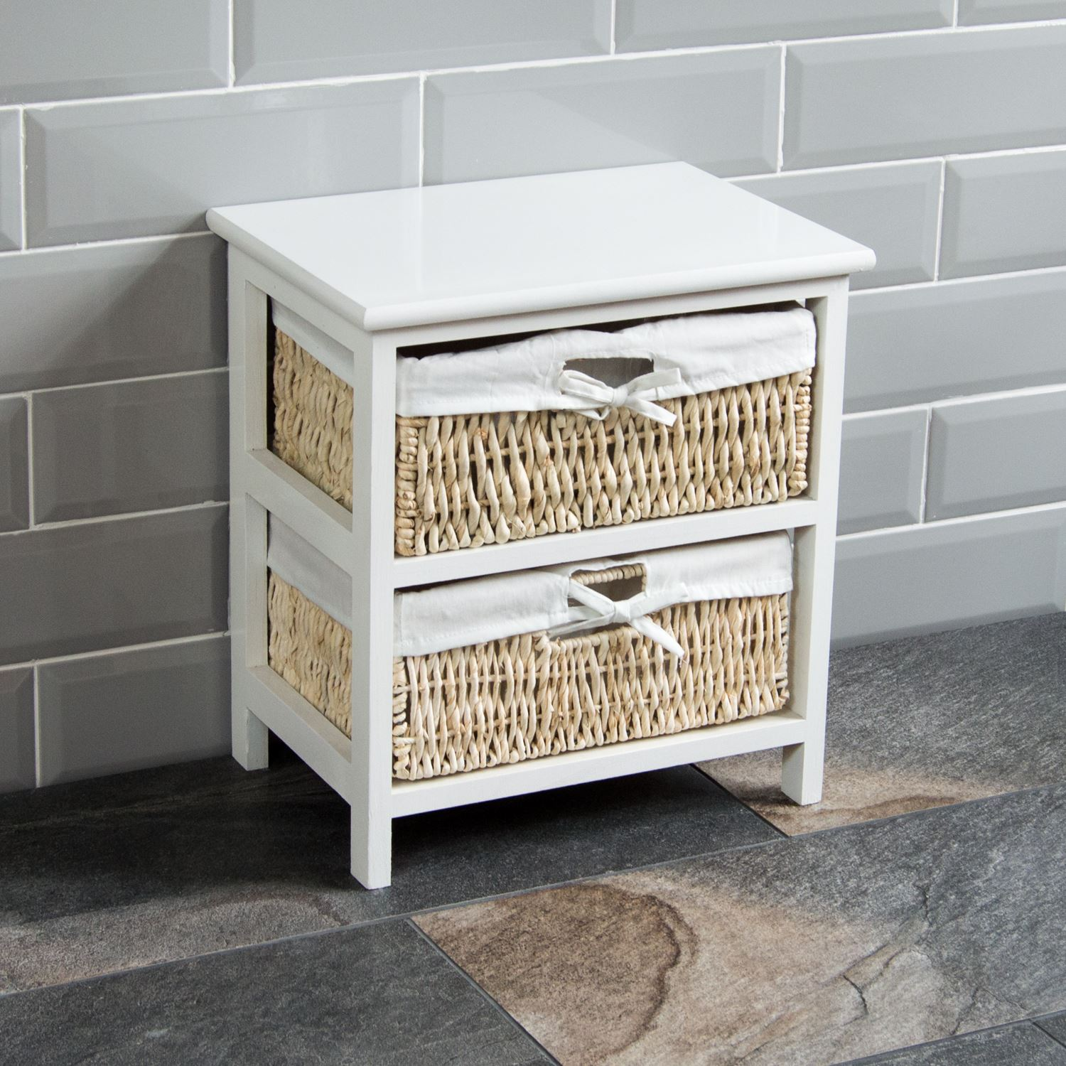 Basket Storage With Drawers Cabinets ~ Drawer wood maize basket drawers white cupboard cabinet