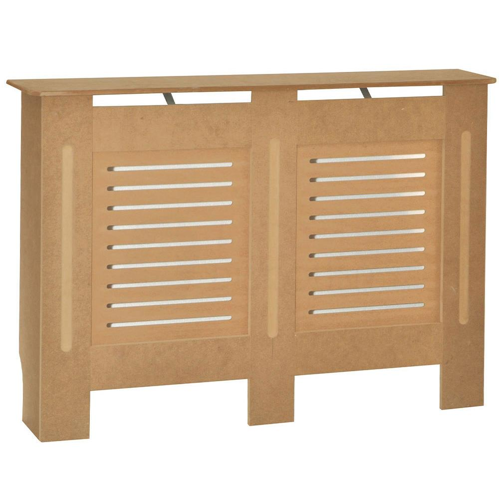 Radiateur-Housse-Blanc-inachevee-MODERNE-BOIS-TRADITIONNELLE-Grill-cabinet-furniture miniature 145