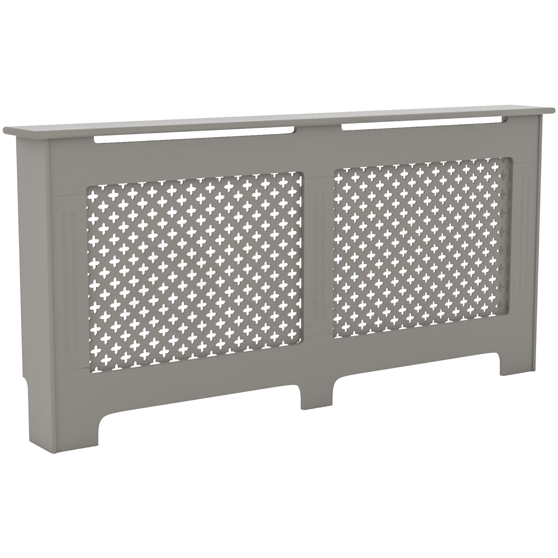 Radiateur-Housse-Blanc-inachevee-MODERNE-BOIS-TRADITIONNELLE-Grill-cabinet-furniture miniature 289