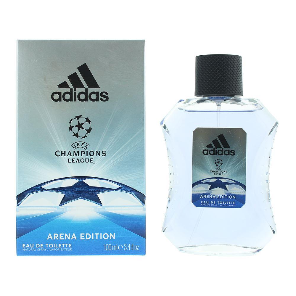 Détails sur Adidas Champions League Arena Eau de Toilette 100ml Men Spray