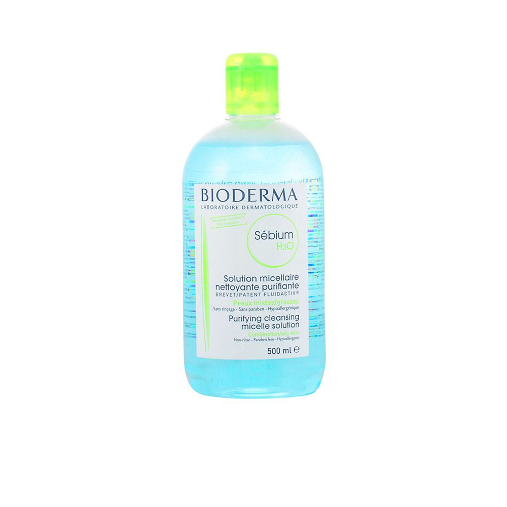 Bioderma Sebium H2o Purifying Cleansing Micelle Solution 500ml Women 30 Day Money Back Guarantee