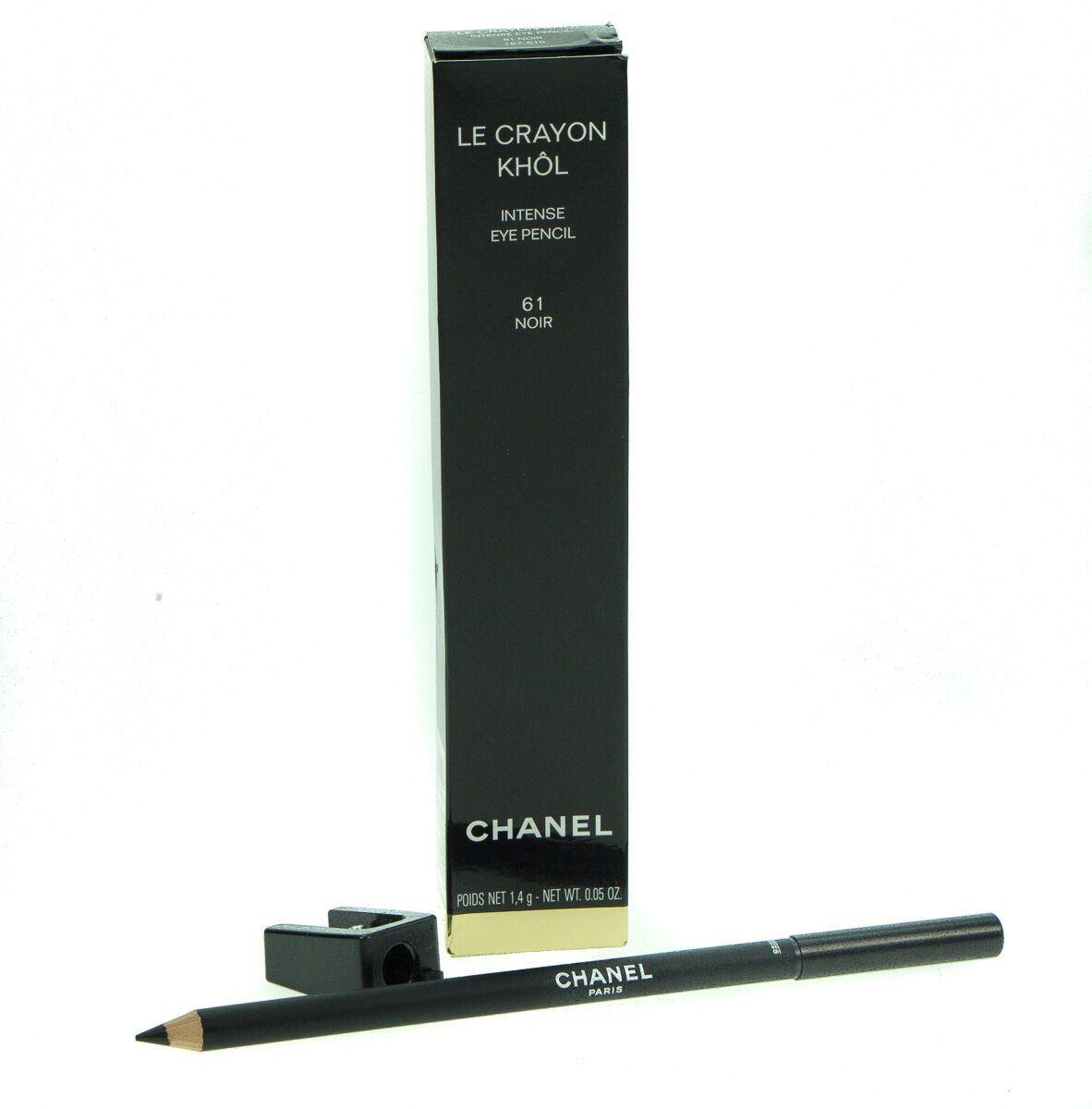 Details about Chanel Le Crayon Khol Intense Eye Liner Noir No.61 1.4g For  Women