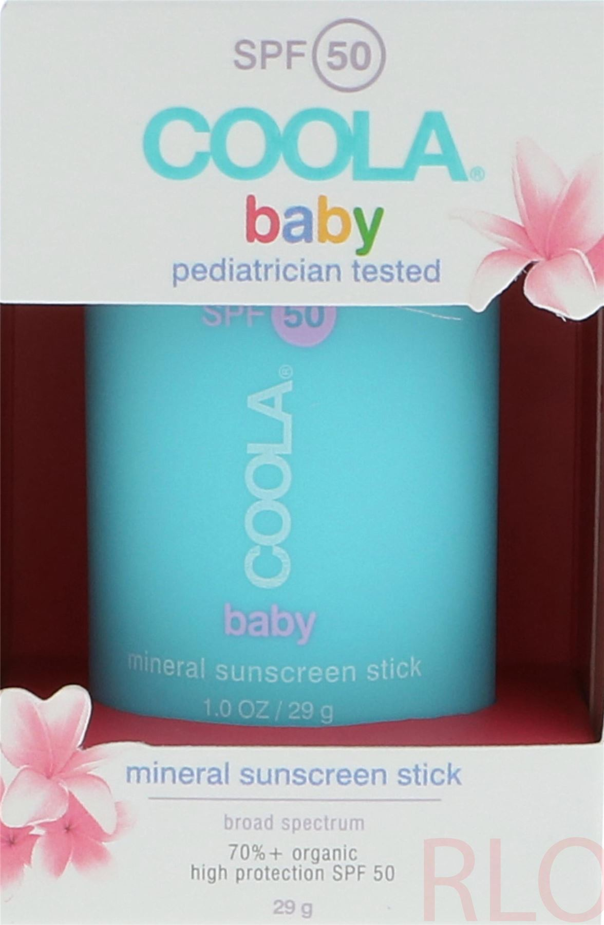 0523b3ab1 Details about Coola Baby Sunscreen Stick SPF50 29gr Unisex