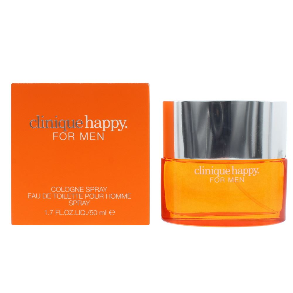 Detalles de Clinique Happy Men EDC 50ml Spray Men