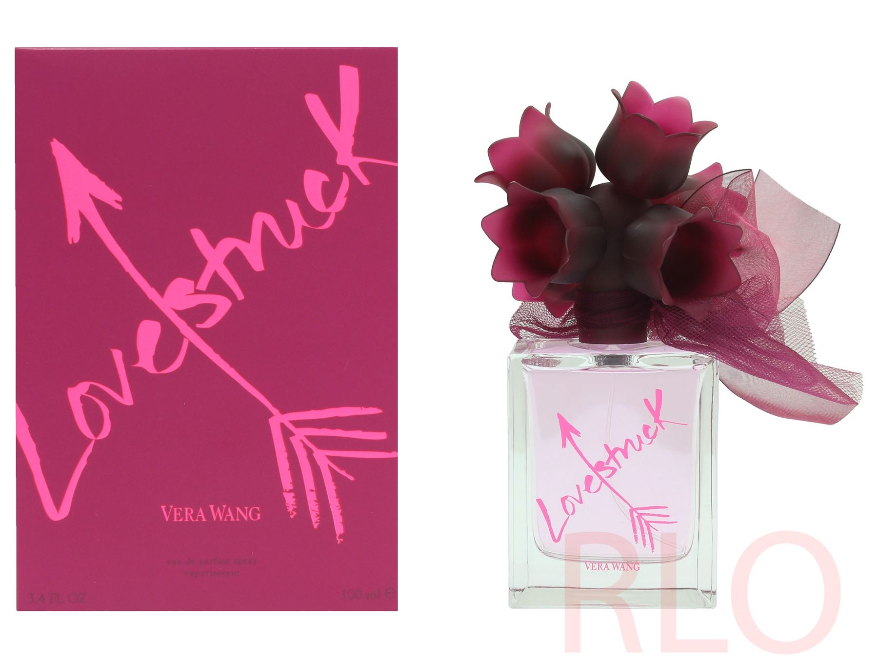 Détails sur Vera Wang Lovestruck Eau de Parfum 100ml Women Spray