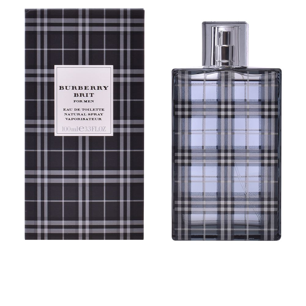 Detalles de Burberry Brit For Men Eau de Toilette 100ml Spray Men