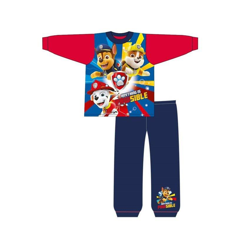 Paw Patrol Boys Chase Marshall and Rubble Pajamas
