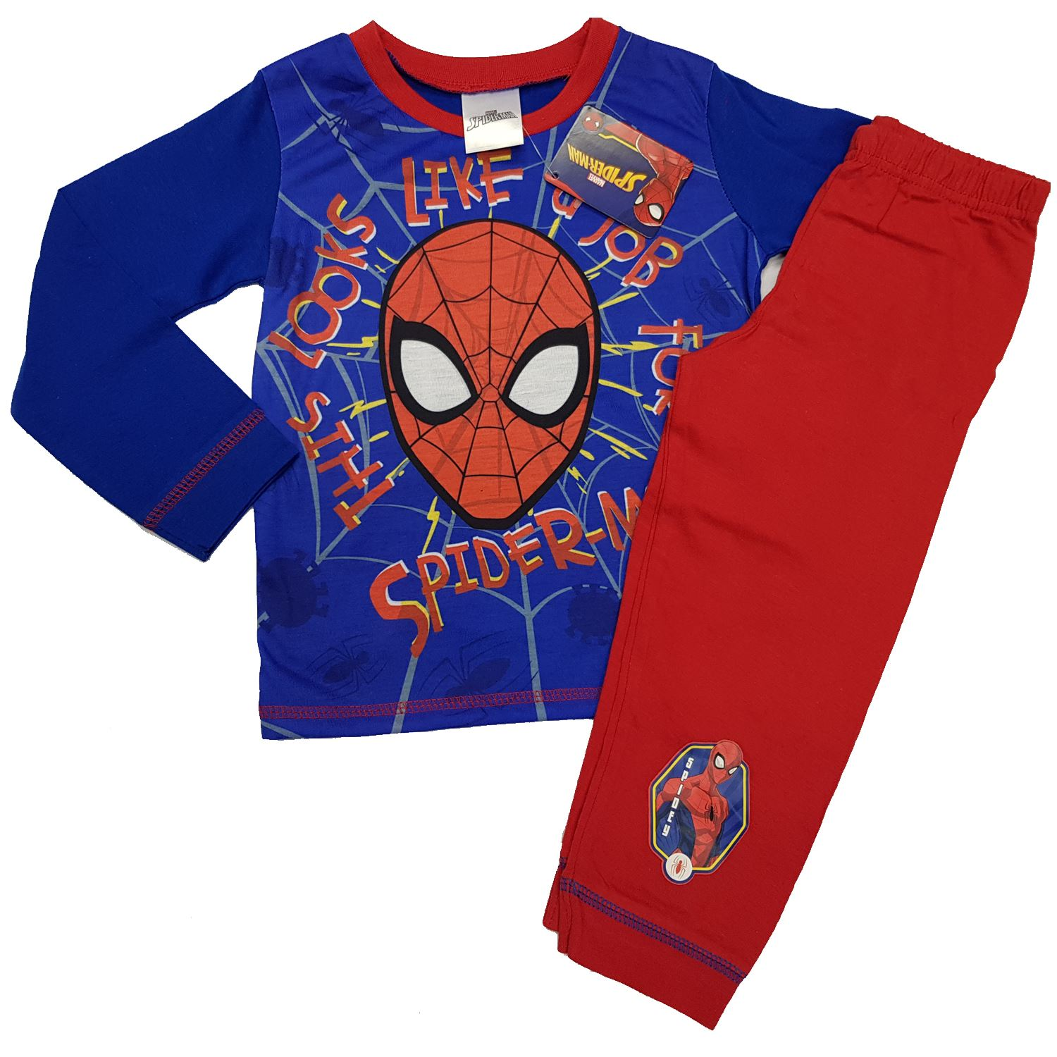 NEW Boys Marvel Spiderman Pyjamas Set pjs  Ages 18//24 months to 5 Years