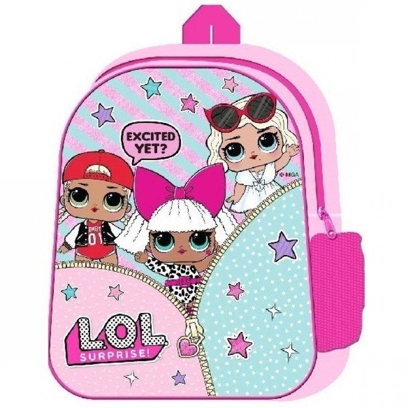 LOL Surprise Doll Backpack Rucksack Kids Girls School Nursery Travel Bag