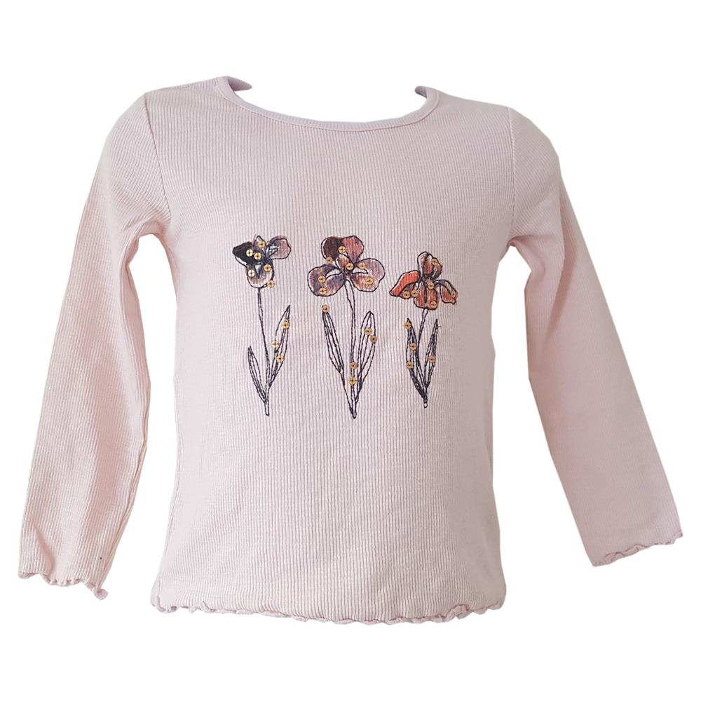 New Girls ex faMouS store floral top age 12-18 18-24 months 2-3 3-4 4-5 5-6 6-7