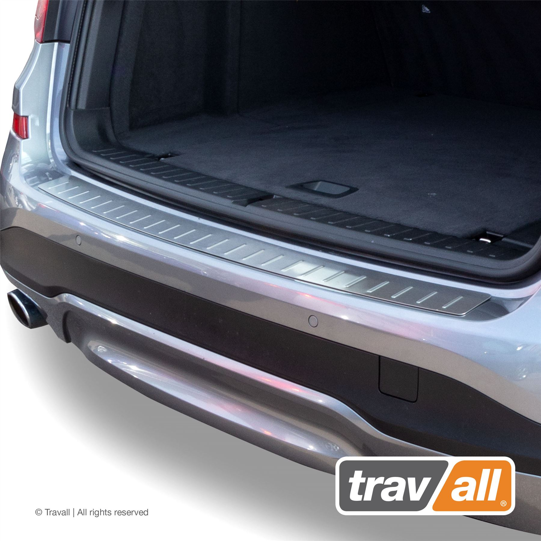 SILVER STAINLESS STEEL BMW X3 TRAVALL BUMPER PROTECTOR 2010-2014