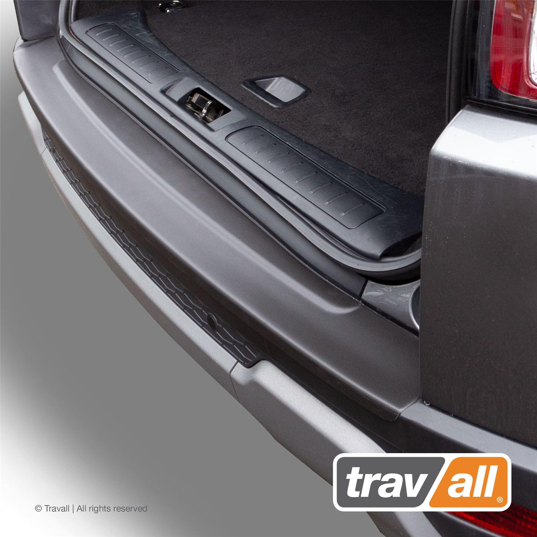 Für Range Rover Evoque Ladekantenschutz Metall Abkantung Schwarz Abdeckung/_