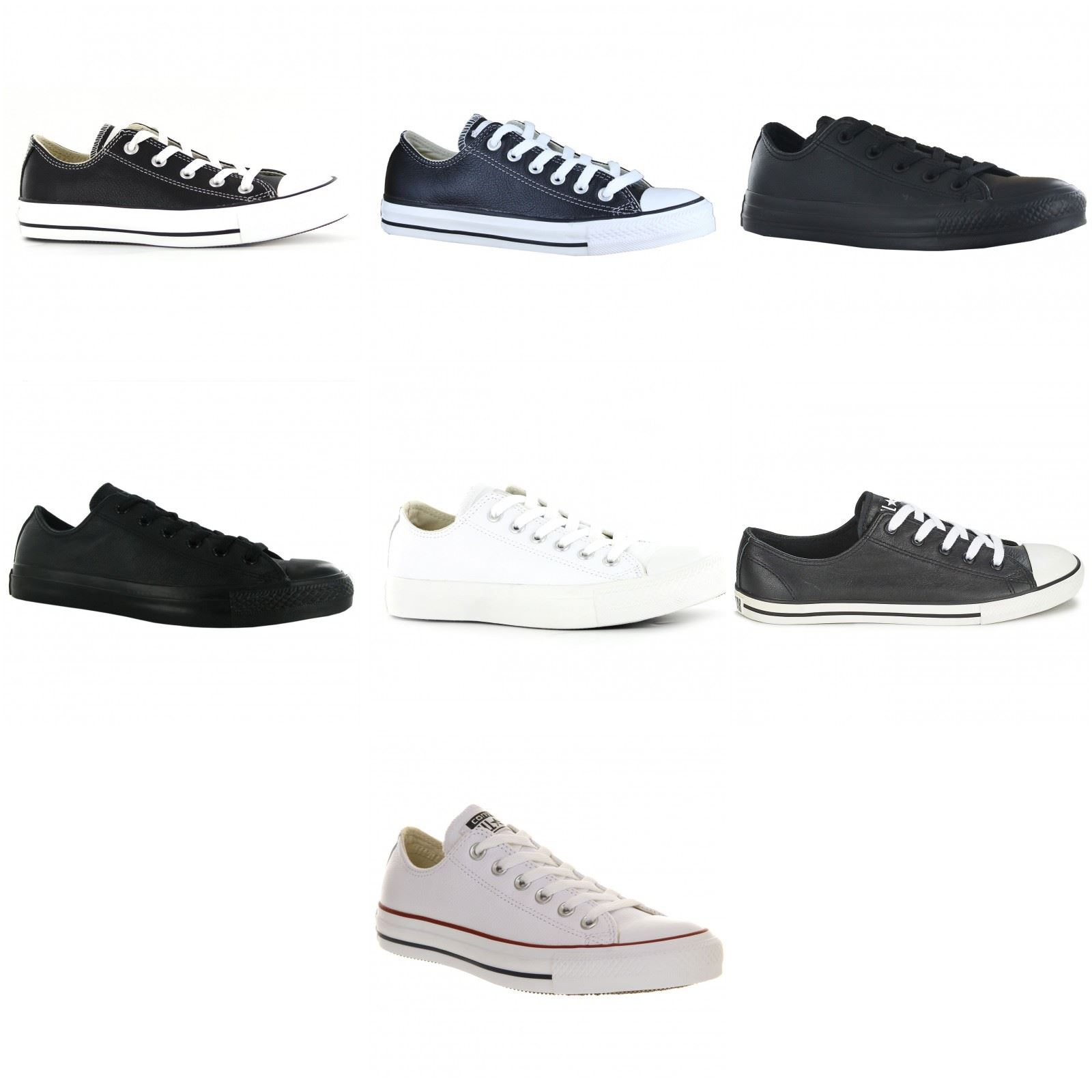128409db5 Converse All Star Ct Ox Leather Unisex Mens Womens Ladies Trainers ...