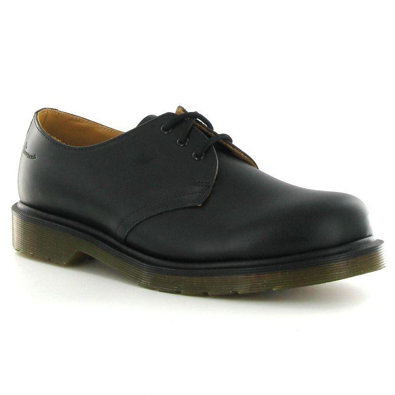 Dr.Martens 1461 Smooth Black Leather Womens - Mens Shoes - 11839002