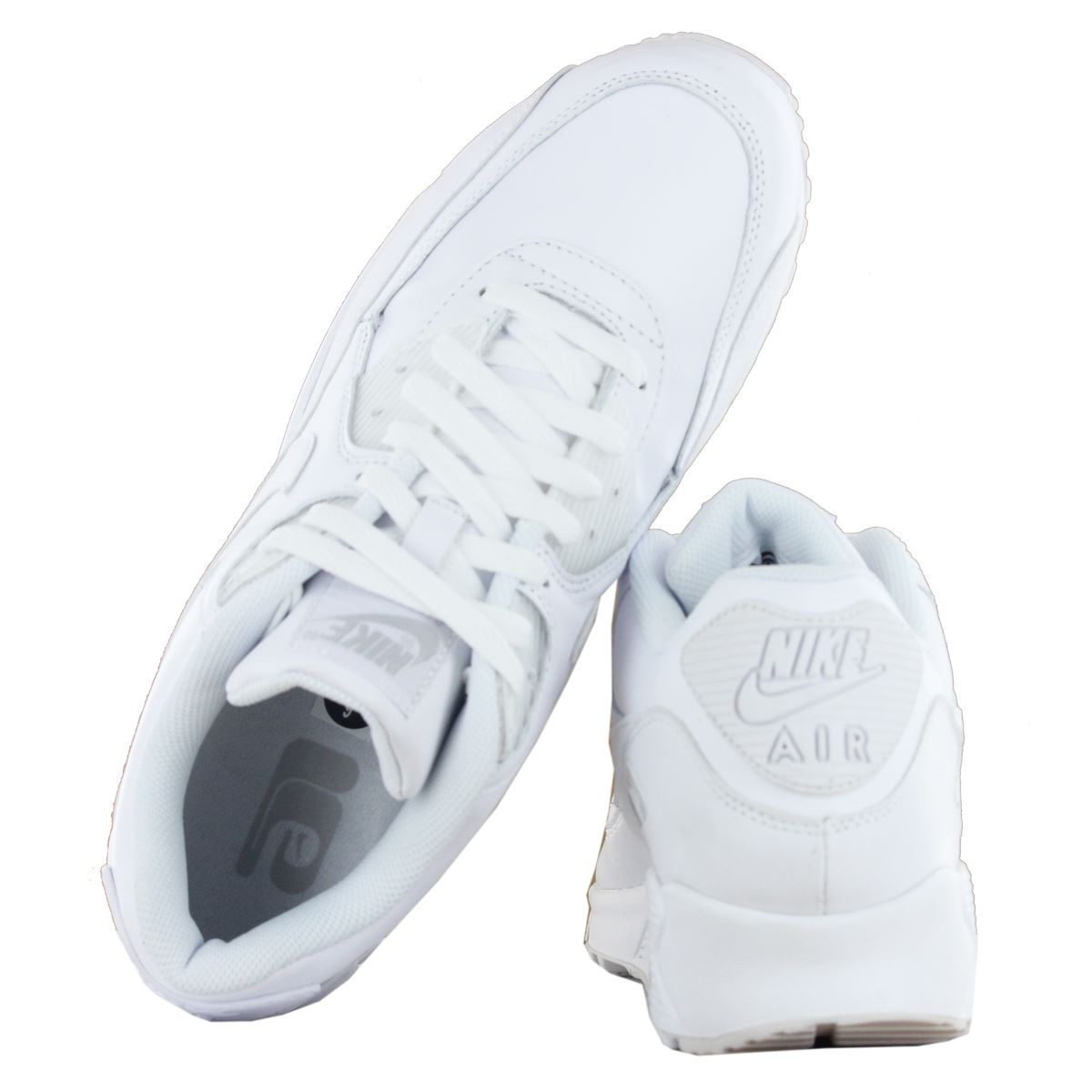 lowest price c555b dacc1 Nike Air Max 90 Trainers White