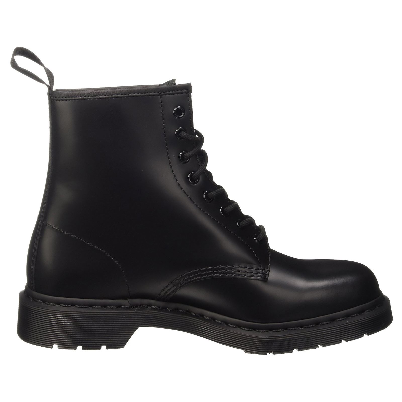 Dr.Martens 1460 8 Eyelet Mono Smooth Black Mens Boots  d86a7198fd72